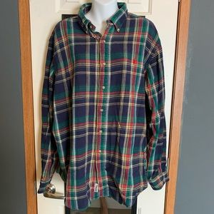 Polo Ralph Lauren Mens XXL Plaid Flannel